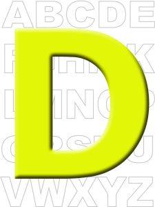 letra-d